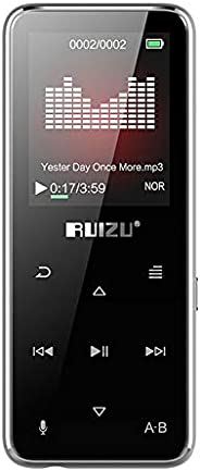 RUIZU X16 8GB MP3 MP4 Digital Player 1.8 Inch Screen Bluetooth Speaker Music Player Lossless Audio & Video