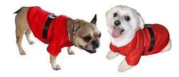 Kostüm Sandy Hunde - Weihnachtsmantel für kleine Hunde