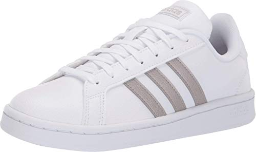 Grand Spa (Adidas GRAND COURT, Damen Hallenschuhe, Mehrfarbig (Ftwbla/Metpla/Ftwbla 000), 40 2/3 EU (7 UK))