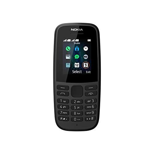 NOKIA 105 2019 (Dual SIM, Black)