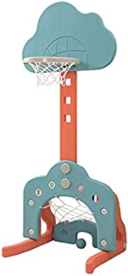 Toppart Children's cloud basketball stand, liftable indoor home shooting stand, toddler toy yo-yo, perfect