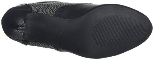 Joe Browns Damen Stivali Da Scarpe Meravigliosi Tweed Stiefel Schwarz (schwarz)