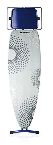 Taurus Argenta - Tabla de planchar, altura ajustable, 124 x 40 cm, multicolor