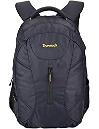 Dunnock Jev Laptop Backpack, 30 Litre (Black)