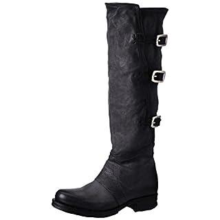 A.S.98 Damen Saintriv Biker Boots, Schwarz (Nero), 39 EU