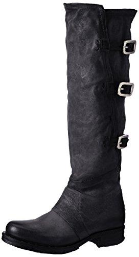 A.S.98 Damen Saintriv Biker Boots, Schwarz (Nero), 40 EU