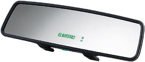 Callstel Rückspiegel Auto: Extraschlanker Kfz-Rückspiegel inkl. Freisprecher mit Bluetooth (Freisprecheinrichtung Spiegel)