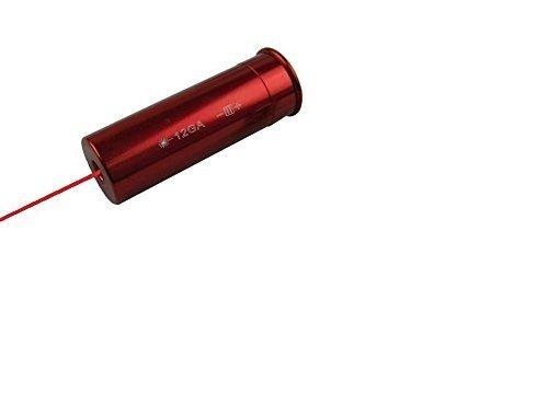 12ga aluminium rote farbe boresighter kartusche mit 3 batterien für 12 gauge - 12 Gauge Ziel