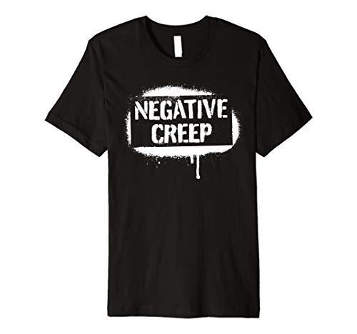 Goth Punk Grunge Rock Negative Creep Tee
