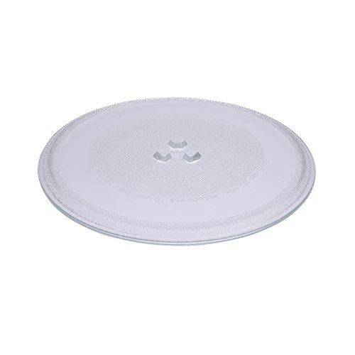 Bandeja First4Spares premium de cristal universal de repuesto con 3discos para girar para microondas (255mm de diámetro)