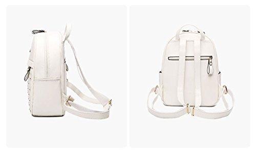 Borsa a tracolla femminile / versione coreana del mini mini zaino della personalità di moda / nuova borsa di marea / borsa dell'unità di elaborazione mummia estate ( Colore : Khaki ) Blu