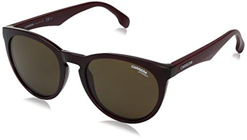 hsene 5040/S 70 S85 Sonnenbrille, Rot (Burgundy/Brown), 53 ()