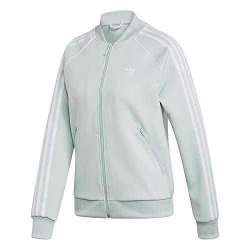 Adidas Sweatjacke Damen SST TT ED7590 Mintgrün, Size:36
