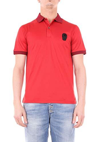 Alexander McQueen Herren 520264Qlx017610 Rot Baumwolle Poloshirt