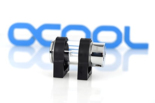 Alphacool 15266 Cape Corp Coolplex HF Metall 10 - Chrome Wasserkühlung Ausgleichsbehälter (Chrome-wasser-pumpe)