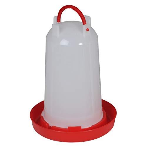 Bebedero para aves, gallinas, gallos con cierre bayoneta, para 3 litros