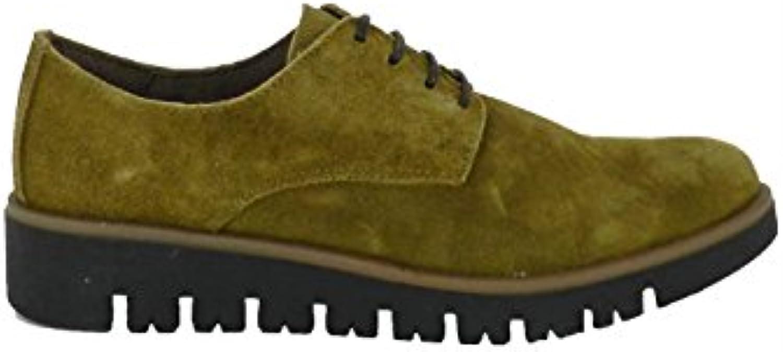 BRAN´s - Zapato Blucher en Piel Verde