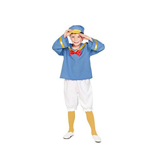 Fyasa 706337-t02Sailor Ente Kostüm, Mittel