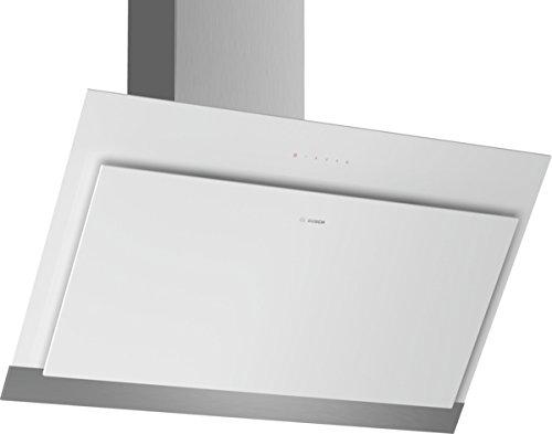 Bosch DWK97HM60 Hotte aspirante/Série 4 hotte de mur / 90 cm/hotte-design-oblique/noir. weiß