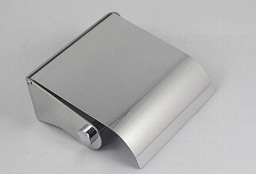 28314-6 WC Papierrollenhalter mit Deckel, Edelstahl 18/8 (SUS304), hoch glänzend