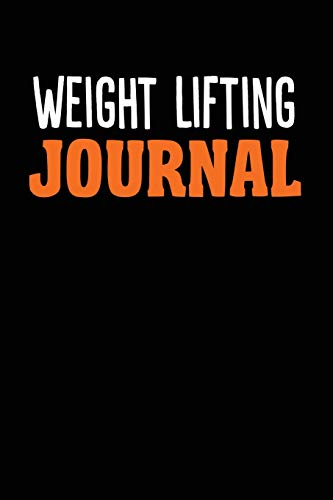 "Weight Lifting Journal: College Ruled Weight Lifting Notebook (6"" x 9"", 110 pages) por JP Publishing"