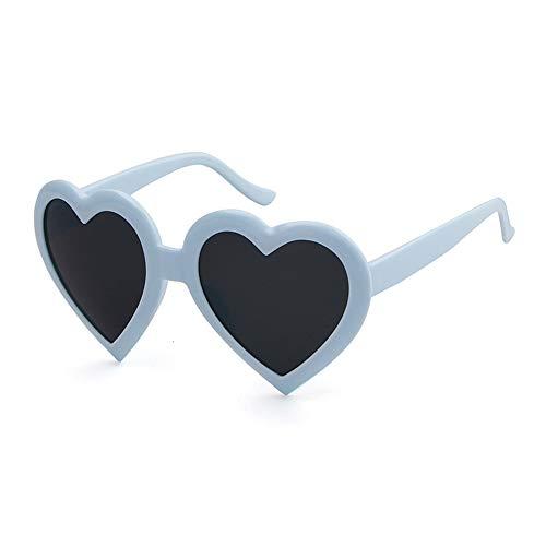 Goodplan 1 stück sonnenbrillen mode niedlich pfirsich herz sonnenbrille für damen spielerisch strand urlaub zubehör