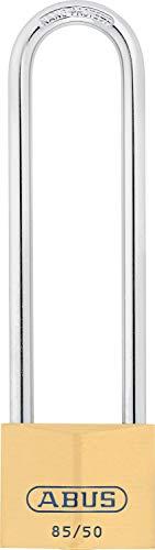 ABUS Messing-Vorhangschloss 85/50HB127 Hochbügel 02418