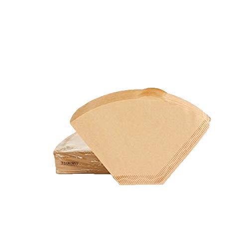Ogquaton Packung mit 100 - Wegwerfbare ungebleichte Kaffeepapiere, geeignet für...