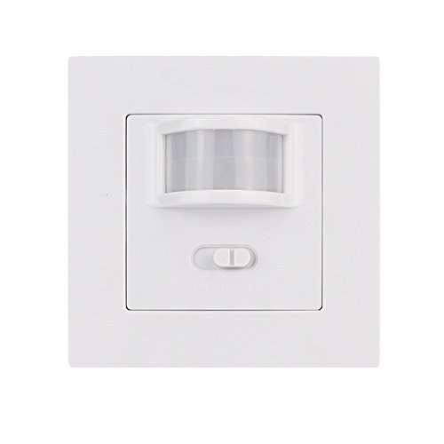 cutogain PIR Motion Sensor Switch Sicherheit Licht Kontrolle Infrarot Bewegung Induktion Detektor, mit Wechsler (Lichter Sicherheit Sensor Motion)