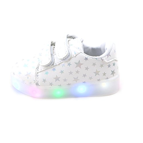 Feicuan-Child-Boys-Girls-LED-Intermitente-Zapatos-con-Luces-zapatilla-de-deporte