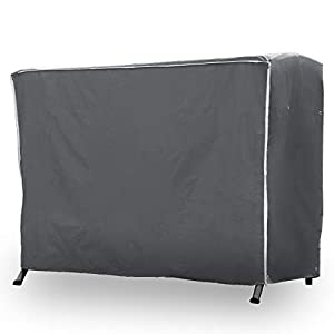 Purovi® Premium Schutzhülle für Hollywoodschaukel | Abdeckung für Gartenschaukel | Oxford Gewebe | Wetterschutz…