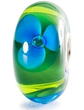Trollbeads Damen-Bead Bach Blumen 925 Silber Glas - TGLBE-10189