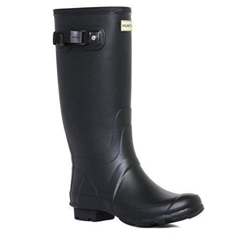 Hunter Women's Field Huntress Wellington Boot, Black, UK7