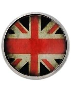 Andante CHUNK Click-Button Druckknopf (United Kingdom) für Chunk-Armbänder, Chunk-Ringe, Chunk-Schlüsselanhänger...
