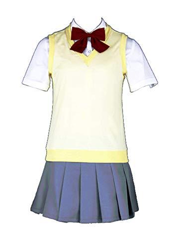 Chong Seng CHIUS Cosplay Costume Set for Inoue Orihime Karakura High School Fall Uniform
