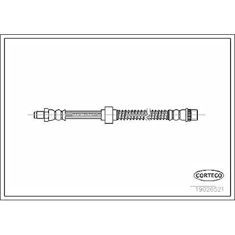 CORTECO 19026521 Flessibile del freno