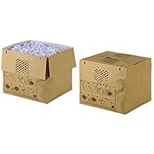 Rexel Dehnbare Abfallsäcke für Aktenvernichter Auto+ 750X/M 50 Stück Auffangvolumen von 115 L mit praktischem Selbstverschluss