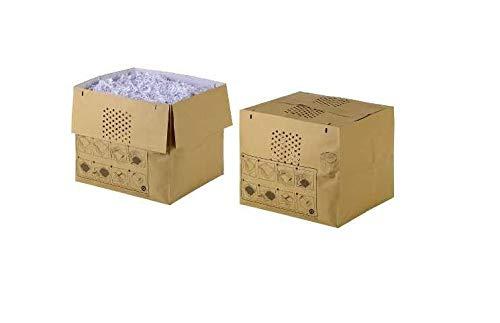 Rexel Auto+750X/M - Pack de 50 bolsas reciclables expandibles para destructora de papel, 115 l de capacidad
