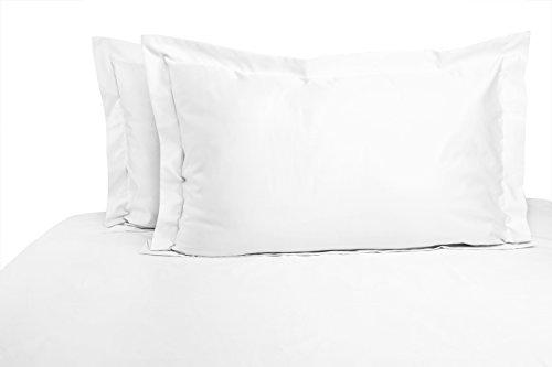 Pinguin Home Fadenzahl 500100% Größe Spannbetttuch, 200x 180cm, Baumwolle, weiß, Betten (Träume Tröster)