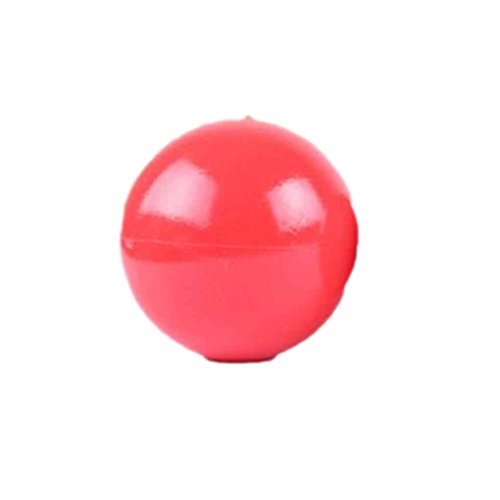 Diamoen Hundespielzeug Gummi Fest Boomer rote Kugel Verschiedene Größen-Haustier-Gummi Trainning Spielzeug -