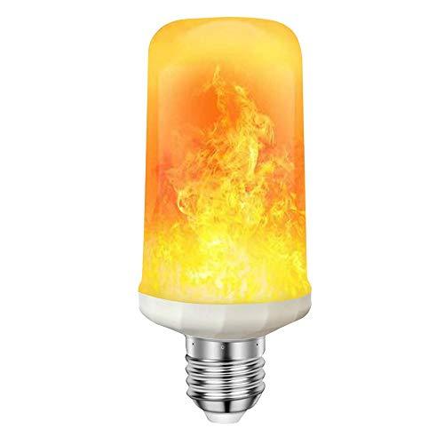 Flamme Glühbirne OASMU LED Flamme Lampe,2018 Neuest Effekt Glühbirne mit mehr Modi,E27 LED Birne dekoratives Licht für Weihnachten, Haus, Restaurants, Bar Par (1st 3W Flamme Glühbirne) Lampe-haus
