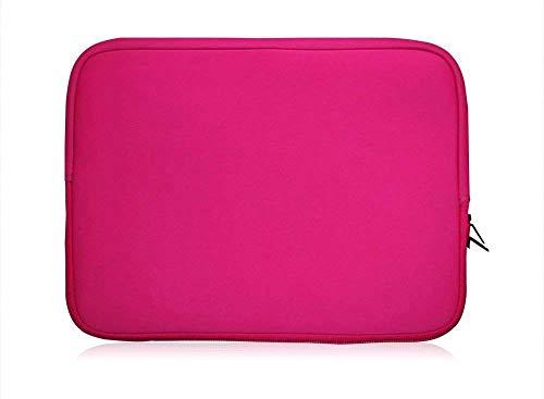Sweet Tech Rosa Neopren Hülle Tasche Sleeve Case Cover geeignet für Toshiba Tecra A40 Series 14 Zoll Laptop (13-14 13-14 Zoll Laptop)