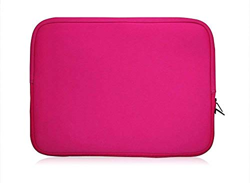 Sweet Tech Rosa Neopren Schutzhülle Sleeve Passend für One Tablet Xcellent Pro 10 Windows Tablet 10.1 Zoll