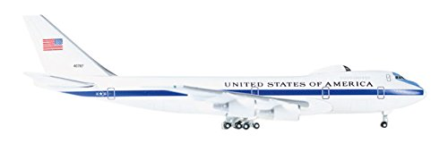 Herpa 529266 - 001 U.S. Air Force Boeing S de 4B Night Watch Advanced Airborne Command Post - 55th Wing Miniatura Vehículo