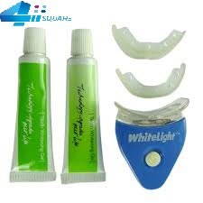 Dreamworld Teeth Whitening Fine Dental Tooth Teeth Cleaner Whitener System White light Gel Kit Set.