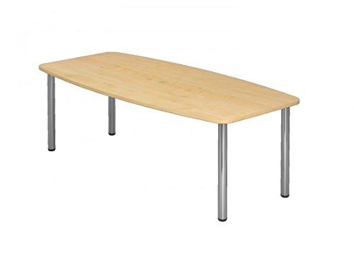 Besprechungstisch KT-Serie DR-Büro - Maße 220 x 103/83 cm - Tischsystem in 7 Farbvarianten -...