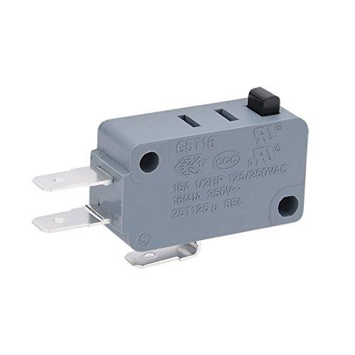sourcing map G5T16 E1Z200 16A Micro-Endschalter-Taste SPDT Momentary Snap Actio 3 Poles -