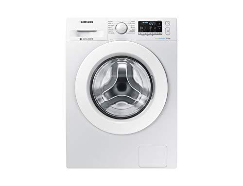 Samsung WW90J5255MW/ET Lavatrice Crystal Clean (9 kg, 1200 rpm) [Classe di efficienza energetica A+++(-40%)]