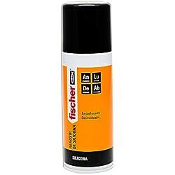 Fischer Silicona (Aerosol 400 ml), 098673, Transparente