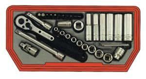 Teng Tools de 36 Mecca Rosso Coffret à douilles
